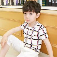 童装男童套装夏装新款儿童中大童夏季男孩短袖潮装