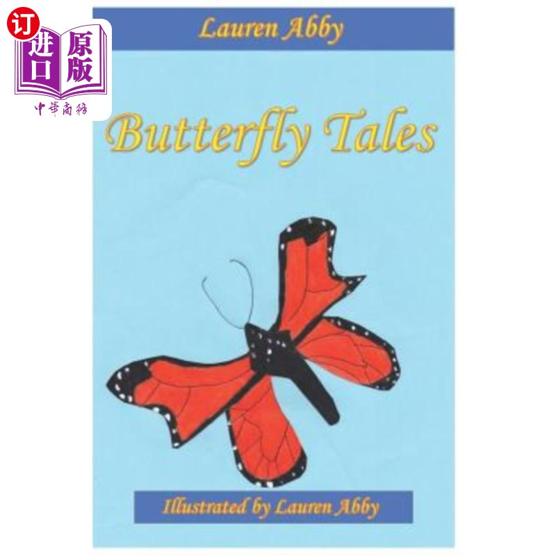 【中商海外直订】Butterfly Tales 海外发货,付款后预计2-4周到货