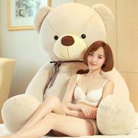 生日礼物 实用创意毛绒玩具熊泰迪熊大号抱枕送女友SN7922