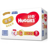 [当当自营]好奇(Huggies) 金装超柔贴身纸尿裤小号S120片(适合4-8公斤)