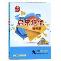 2021启东培优微专题九年级图形与几何练习册培优作业提分龙门书局