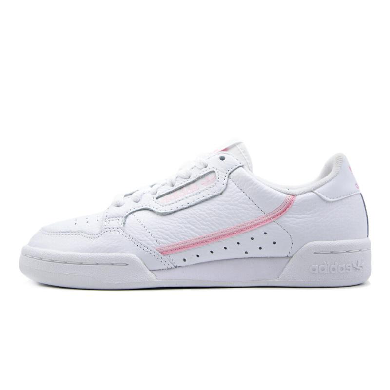 adidas 阿迪达斯 女款 三叶草 CONTINENTAL 80 W 运动鞋 小白鞋 板鞋 G27722