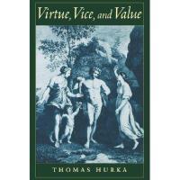 【预订】Virtue, Vice, and Value