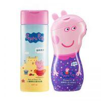 一般贸易 小猪佩奇儿童沐浴露400ml+2合1儿童洗发水350ml(薰衣草)