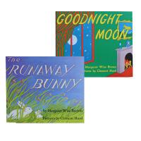 廖彩杏吴敏兰推荐书单 美国Top100百本必读 备受欢迎的晚安故事 Goodnight Moon 月亮晚安跟The R