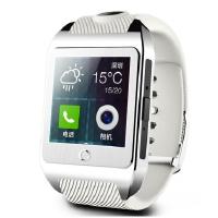 inWatch Z 独立通讯智能手表 智能手表手机 500万高清拍摄 银色表盘配白色表带