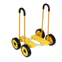 平衡脚踏车儿童健身车感统训练器材玩具四轮平衡车