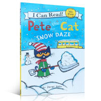 英文原版绘本 Pete the Cat Snow Daze 皮特猫下雪Christmas 圣诞 New year 新年