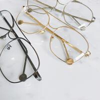 2018春夏男士装饰框架眼镜平面眼镜情侣青年学生时尚百搭眼镜