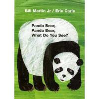 Panda Bear, Panda Bear, What Do You See? Board book 英文原版儿童书