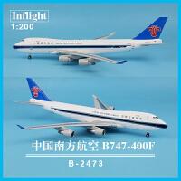 IF744CZ2473中国南方航空 B747-400F 1:200飞机模型品质定制新品