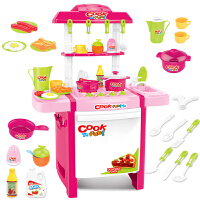 儿童做饭玩具炒菜厨房套装宝宝购物车仿真厨具男孩女童3-5岁女孩