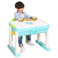 【满2件5折】活石 积木桌子兼容乐高大颗粒儿童多功能拼装积木桌