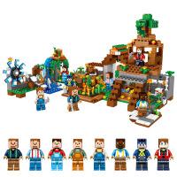 将牌我的方块世界8合1人仔人偶公仔拼装积木儿童启蒙开智玩具0518