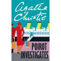 英文原版 POIROT INVESTIGATES 首相绑架案 阿加莎侦探系列