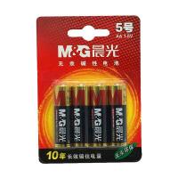晨光 无汞环保干电池1.5V 5号/7号AA碱性电池