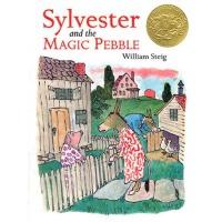 英文原版儿童书 Sylvester and the Magic Pebble [With CD (Audio)] 驴小