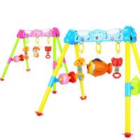 新生婴儿玩具0-3岁 婴儿早教 宝宝健身架器音乐投影遥控故事机