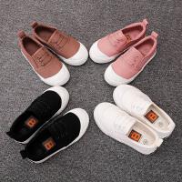 儿童帆布鞋男童布鞋女童鞋子宝宝小白鞋春秋2018新款韩版