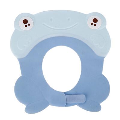 小孩子洗头帽 宝宝洗澡神器洗头帽防水洗发帽护耳儿童小孩防水帽婴儿浴帽可调节  可调节 新升级防水护耳适合3个月-10周岁儿童