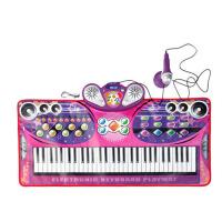 音乐玩具生日礼品物宝宝女孩幼儿童早教61键电子琴钢琴毯学习