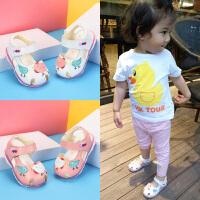 婴儿学步鞋女宝宝凉鞋宝宝鞋夏季婴儿鞋