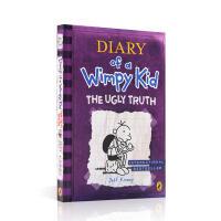 【全店300减110】英文进口原版小屁孩日记5 Diary of a Wimpy Kid The Ugly Truth 儿童桥梁漫画课外读物6-12岁Jeff Kinney