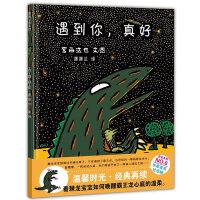 宫西达也温馨恐龙故事系列《遇到你,真好》蒲蒲兰童书馆正版精选图画书精装绘本0-1-2-3-6岁幼儿童成长故事图书籍读物