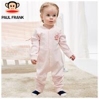 PWU1732006大嘴猴(paul frank)婴儿连身衣 纯棉春秋长袖内衣