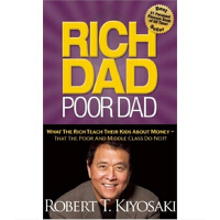 【现货】英文原版 Rich Dad Poor Dad: What The Rich Teach Their Kids