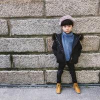 2018新款儿童羽绒服男童冬装短款加厚大毛领保暖宝宝童装女童外套