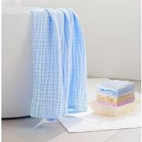 浴巾礼盒婴儿纯棉纱浴巾吸水新生儿洗澡巾宝宝