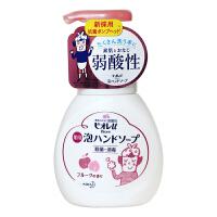 花王(kao)植物泡沫洗手液 水果香型 瓶装 250ml
