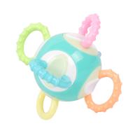 宝宝手抓球 婴儿玩具6-12个月可水煮高温牙胶软胶手摇铃