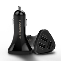 24V车载充电器快充一拖三点烟器转换插头多功能手机qc3.0车充