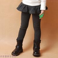 童装女童春秋裙裤加绒带裙宝宝保暖裤儿童冬款加厚假两件打底裤
