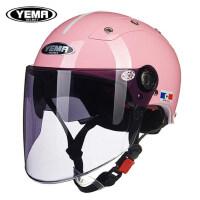 野马电动车头盔女士摩托车头灰男士哈雷头帽安全盔电瓶车半盔夏季