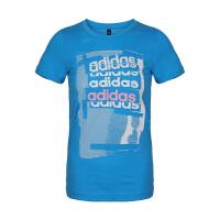 adidas/阿迪达斯女款2019夏季新款吸汗透气运动T恤T恤DV3007