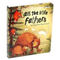 所有的小父亲 All the Little Fathers 英文原版绘本 撕不烂绘本 低幼启蒙 情绪管理图画书