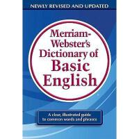 【预订】Merriam-Webster's Dictionary of Basic English