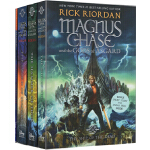 Percy Jackson 波西杰克逊 马格纳斯与仙宫之神1-3本盒装 Magnus Chase and the Go