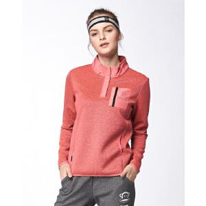 【限时秒杀到手价:179元】paul frank/大嘴猴时尚休闲女式运动套头绒外套