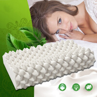 泰国原液单人乳胶枕颈椎枕头乳胶按摩颗粒枕乳胶枕芯