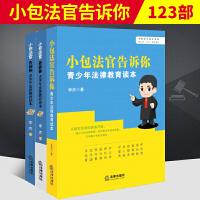 正版现货 小包法官告诉你 青少年法律教育读本(第1、2、3部) 李杰 著 法律出版社