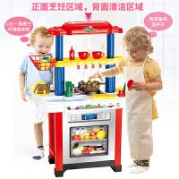 儿童厨房玩具套装炒菜烧饭女童3-10岁女孩仿真厨具