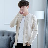 毛衣外套男线衣休闲薄款男士秋冬开衫韩版潮流外穿针织衫