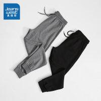 [3折到手价:79.6元再叠30券,仅限2.19-24]真维斯男装 2020春装新款 卫衣布修身休闲长裤