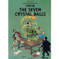 The Adventures of Tintin: The Seven Crystal Balls丁丁历险记・七个水晶球 ISBN 9780316358408