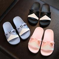 儿童拖鞋夏可爱男女童亲子宝宝拖鞋浴室内家居小孩凉拖鞋