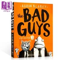 【中商原版】我是大坏蛋1 The Bad Guys1 儿童趣味漫画 英语学习 章节书小说 Scholastic美国学乐